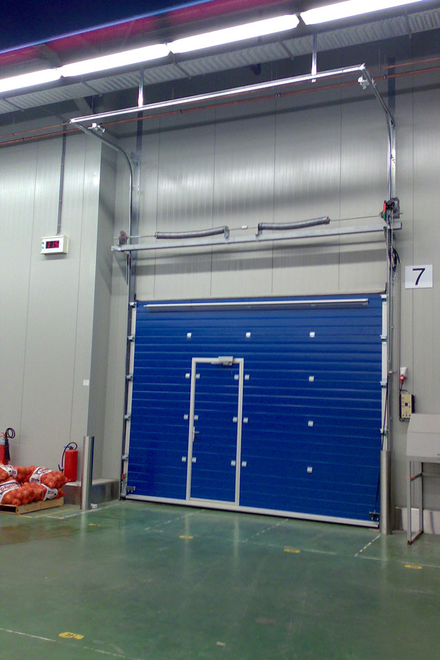 Sod Sectional Overhead Doors